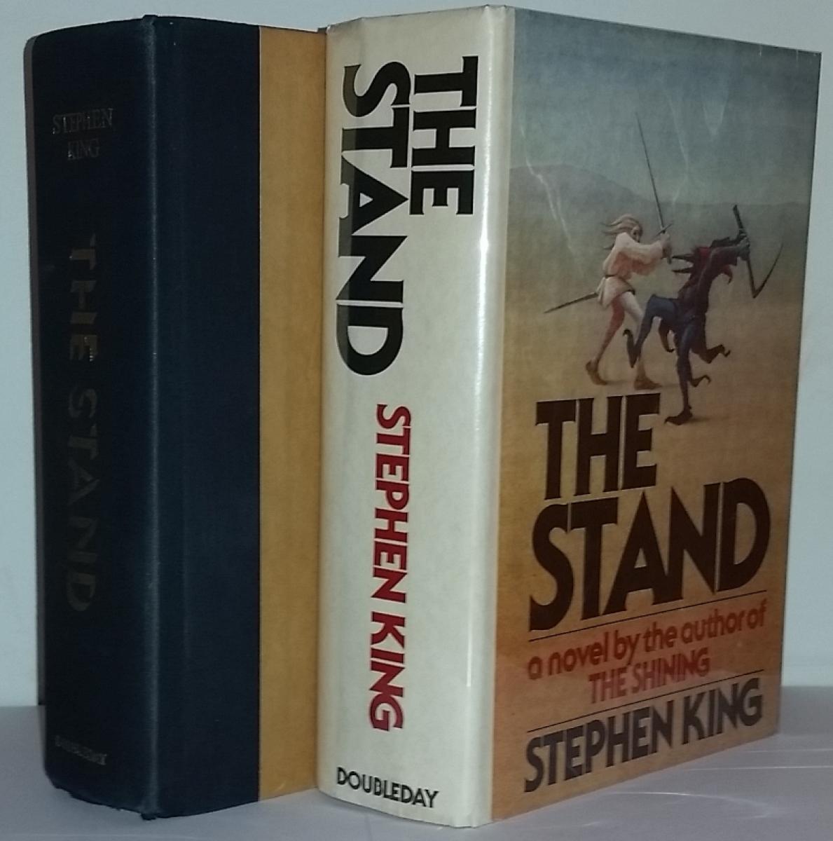 """""""The Stand"""" - książka i obwoluta - obrazek"""
