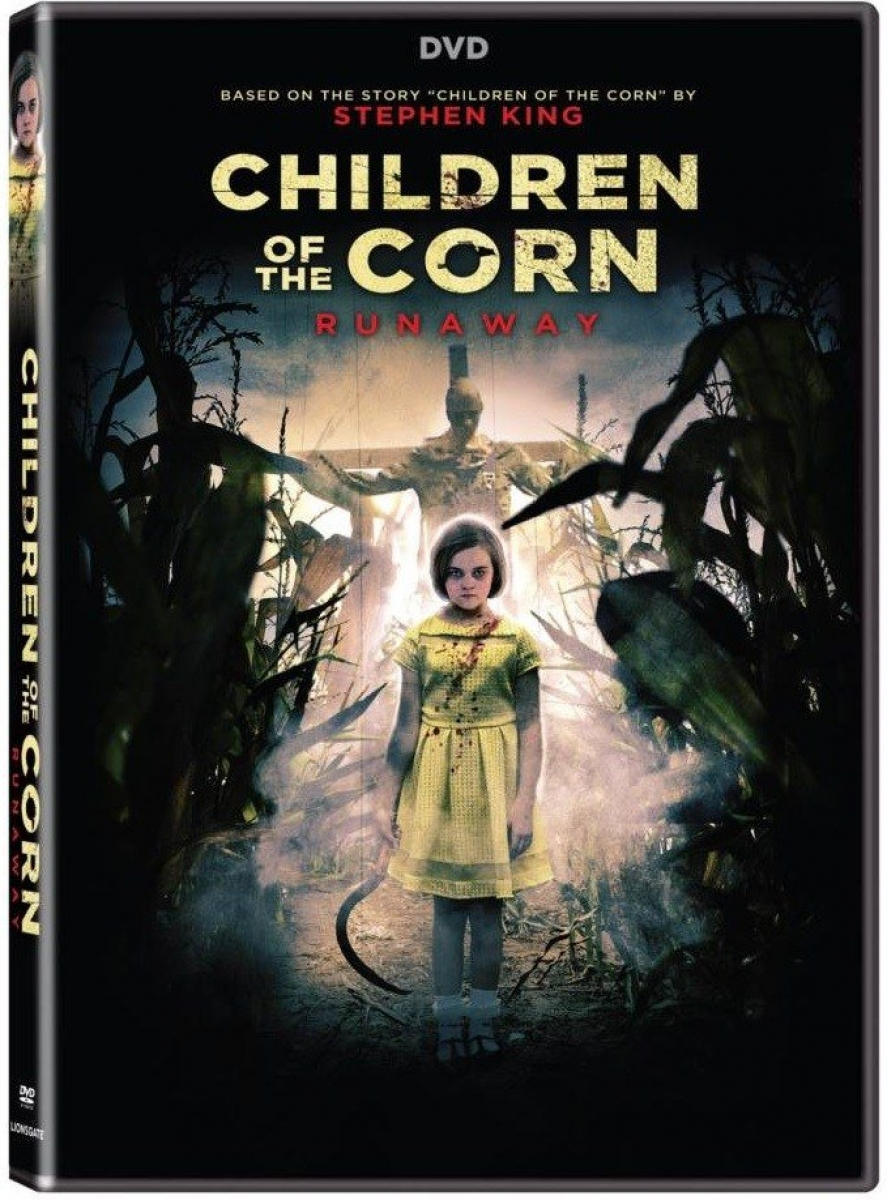 """Children of the Corn Runaway"" okładka DVD - obrazek"