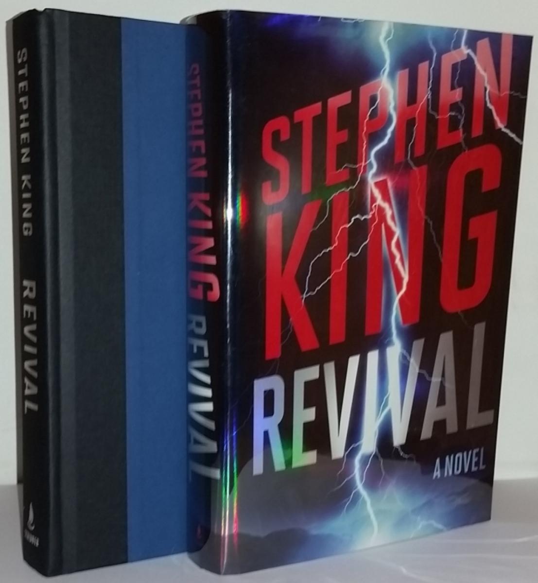 """""""Revival"""" - książka i obwoluta - obrazek"""