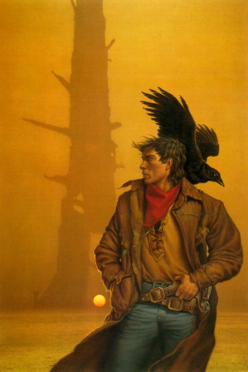 """""""The Dark Tower I: The Gunslinger"""" - ilustracja Michaela Whelana - obrazek"""