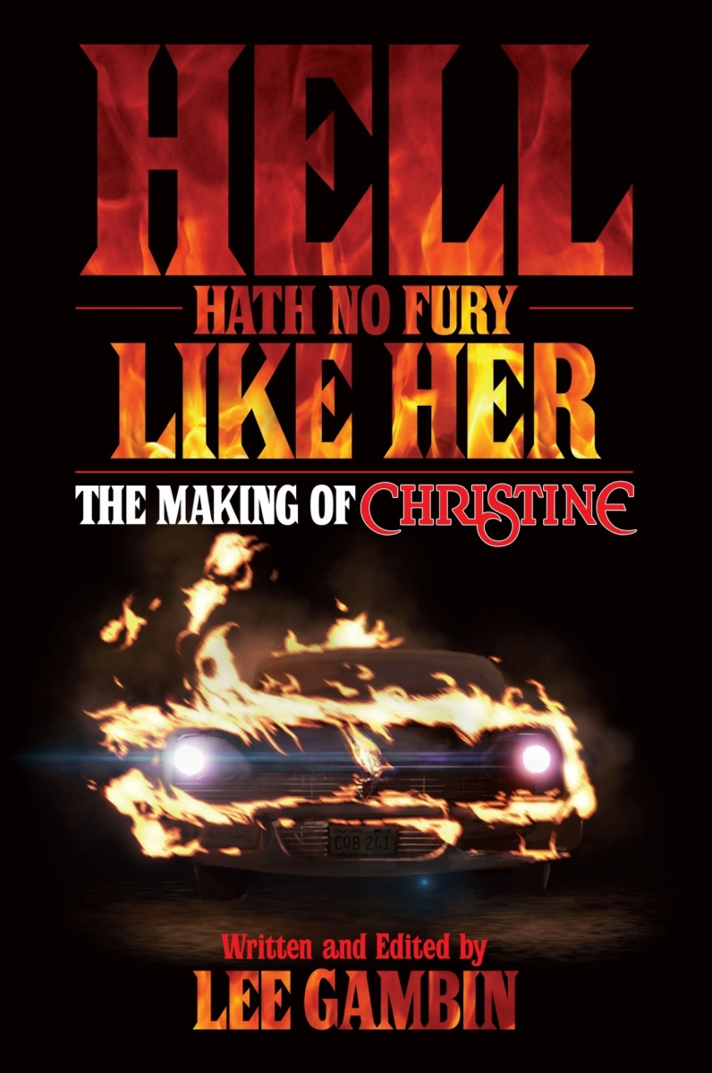 """Hell Heath no Fury like Her The Making of Christine"" - okładka - obrazek"