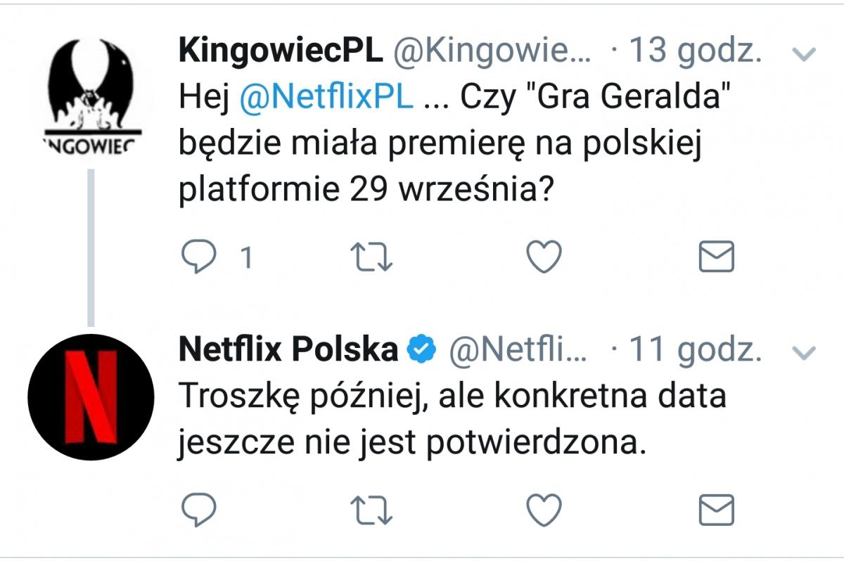 "Netflix Polska - ""Gra Geralda"" - obrazek"