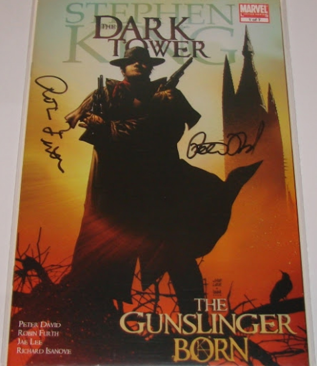 """The Dark Tower: The Gunslinger Born #1"" - autografy Robin Furth i Petera Davida - obrazek"
