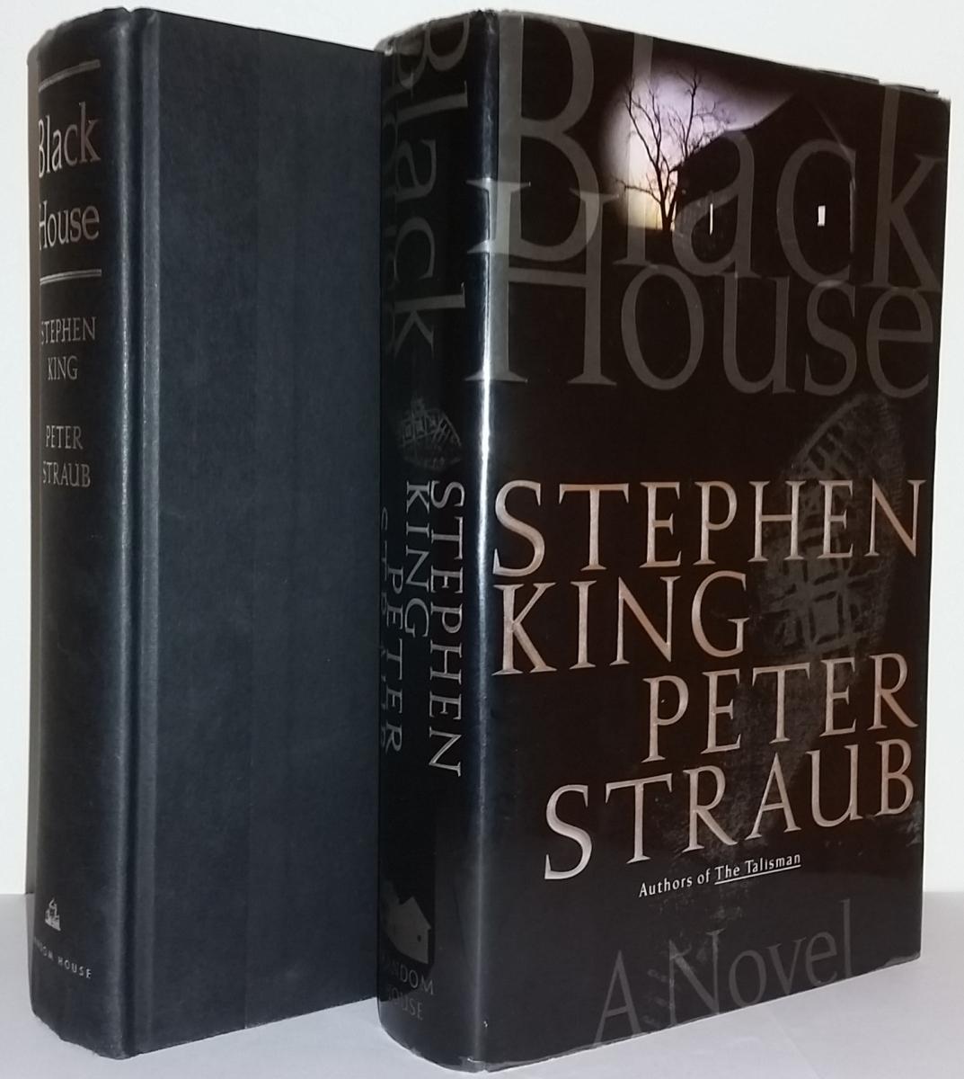 """""""Black House"""" - książka i obwoluta - obrazek"""