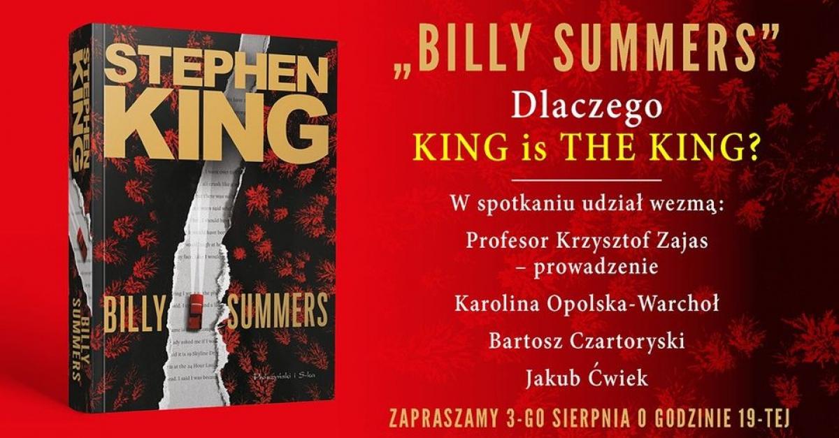 """""""Dlaczego King is The King"""" - spotkanie online - obrazek"""