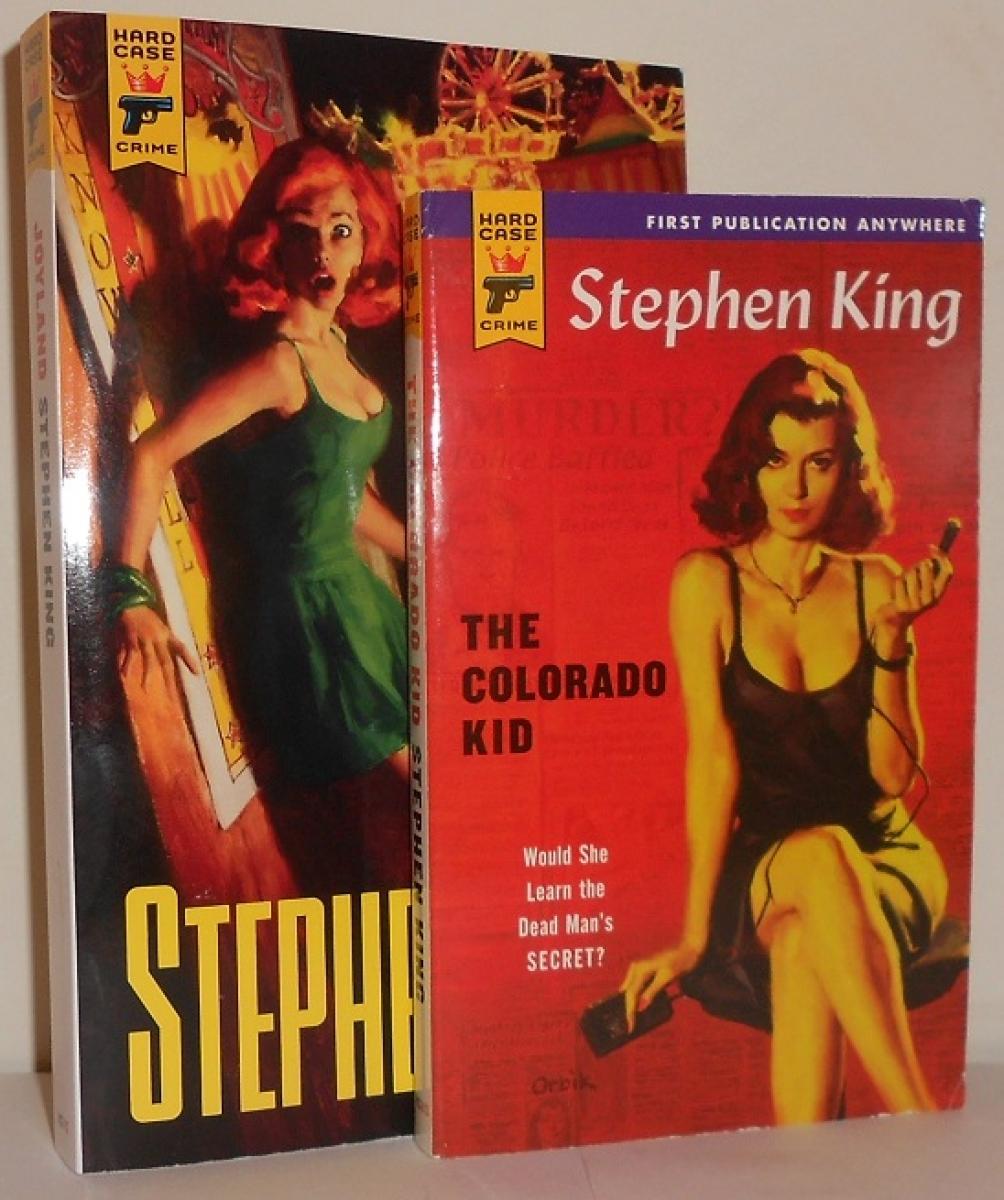 """""""Joyland"""" i """"The Colorado Kid"""" - porównanie formatów książek - obrazek"""