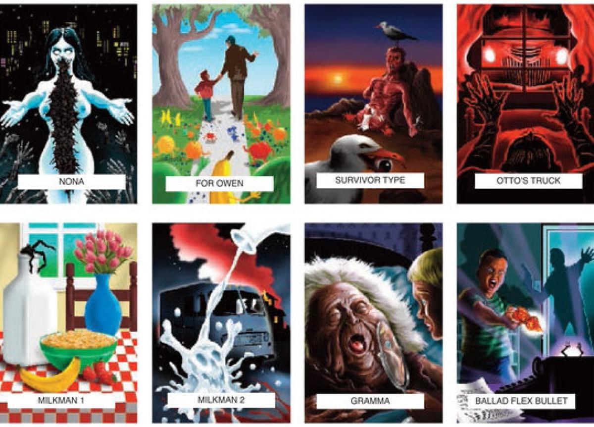 Skeleton Crew - PS Publishing - wizualizacje ilustracji 2 - obrazek