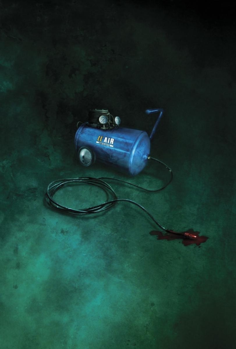 Vincent Chong - The Blue Air Compressor - obrazek