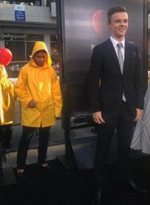 Nicholas Hamilton na premierze To - obrazek