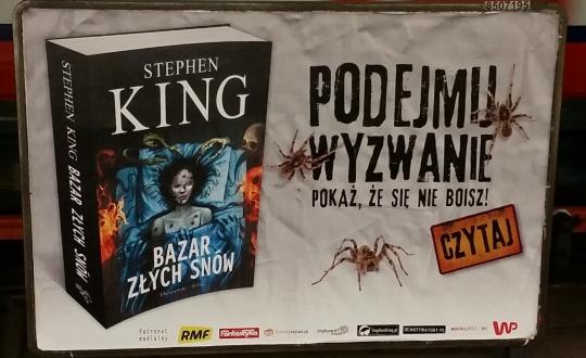 Bazar złych snów - billboard metro Centrum