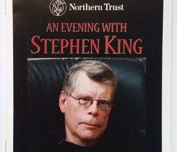 An Evening with Stephen King - ulotka - obrazek