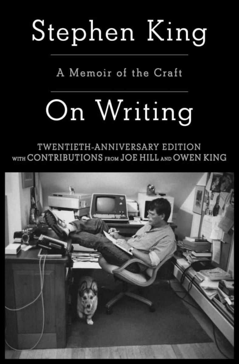 """""""Jak pisać. Pamiętnik rzemieślnika"""" - okładka amerykańskiego wydania na 20-lecie - obrazek"""