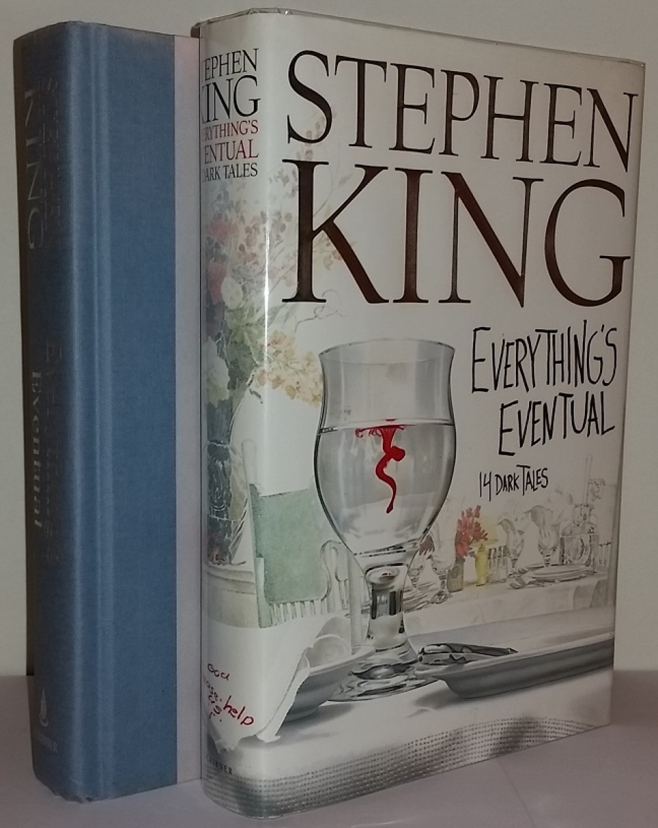 """Everything's Eventual"" - książka i obwoluta - obrazek"