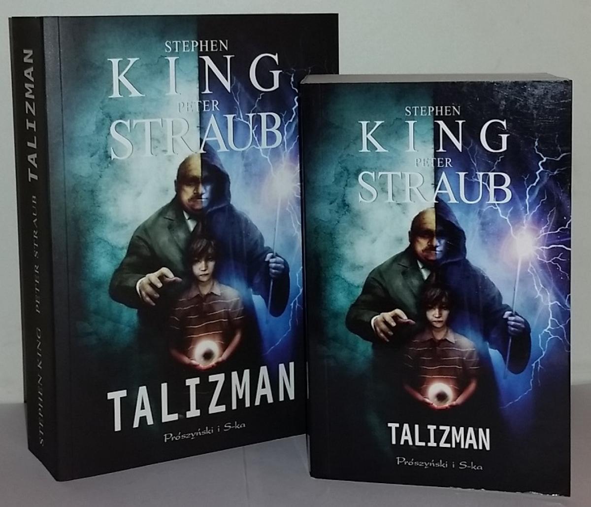 """""""Talizman"""" - książka w wydaniu standardowym i kieszonkowym - obrazek"""