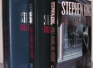 """""""Full Dark, No Stars"""" Signed & Traycased Edition - pudełko, książka i obwoluta - obrazek"""