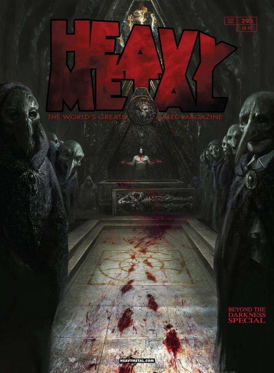 """""""Heavy Metal"""" #293 - okładka wariant D - obrazek"""