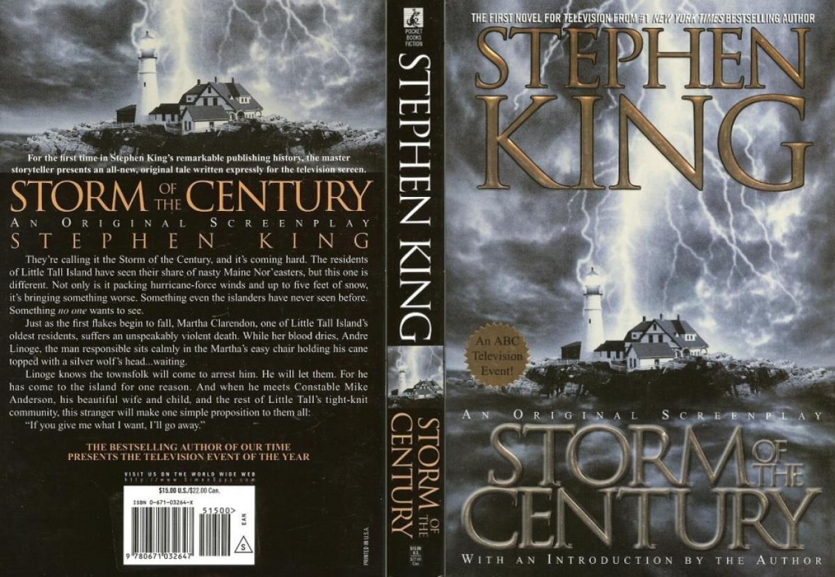 """Storm of the Century"" - okładka - obrazek"