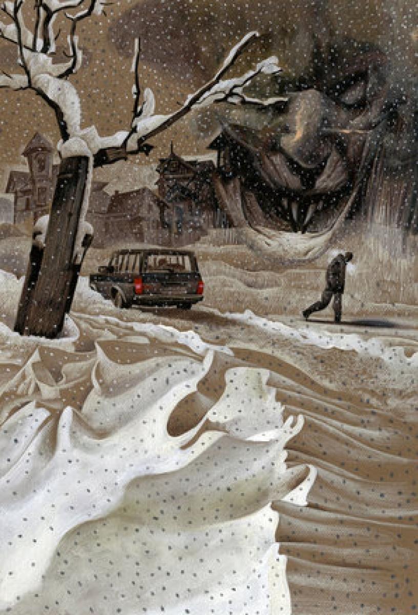 Nocna Zmiana - Dave McKean - One for the Road - obrazek