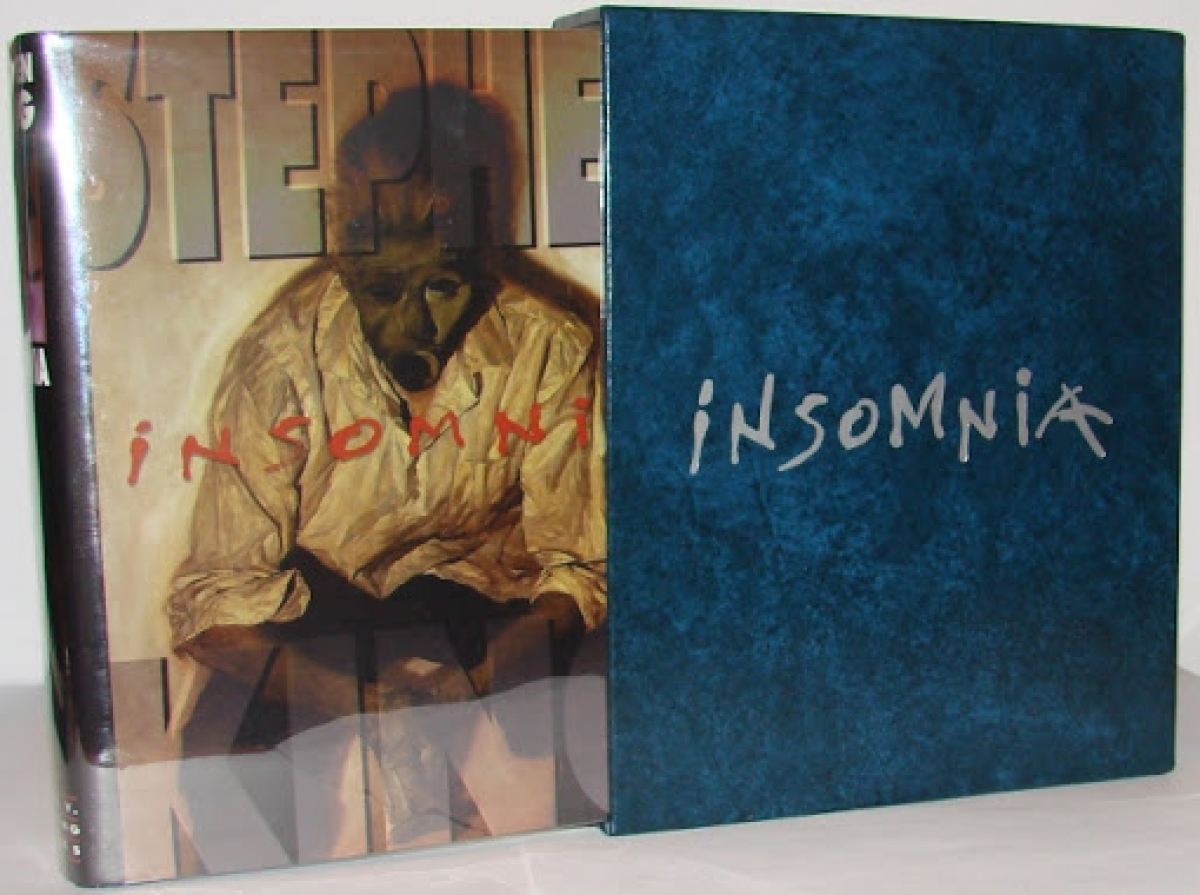 """Insomnia"" Mark V. Zeising Gift Edition - książka i etui - obrazek"