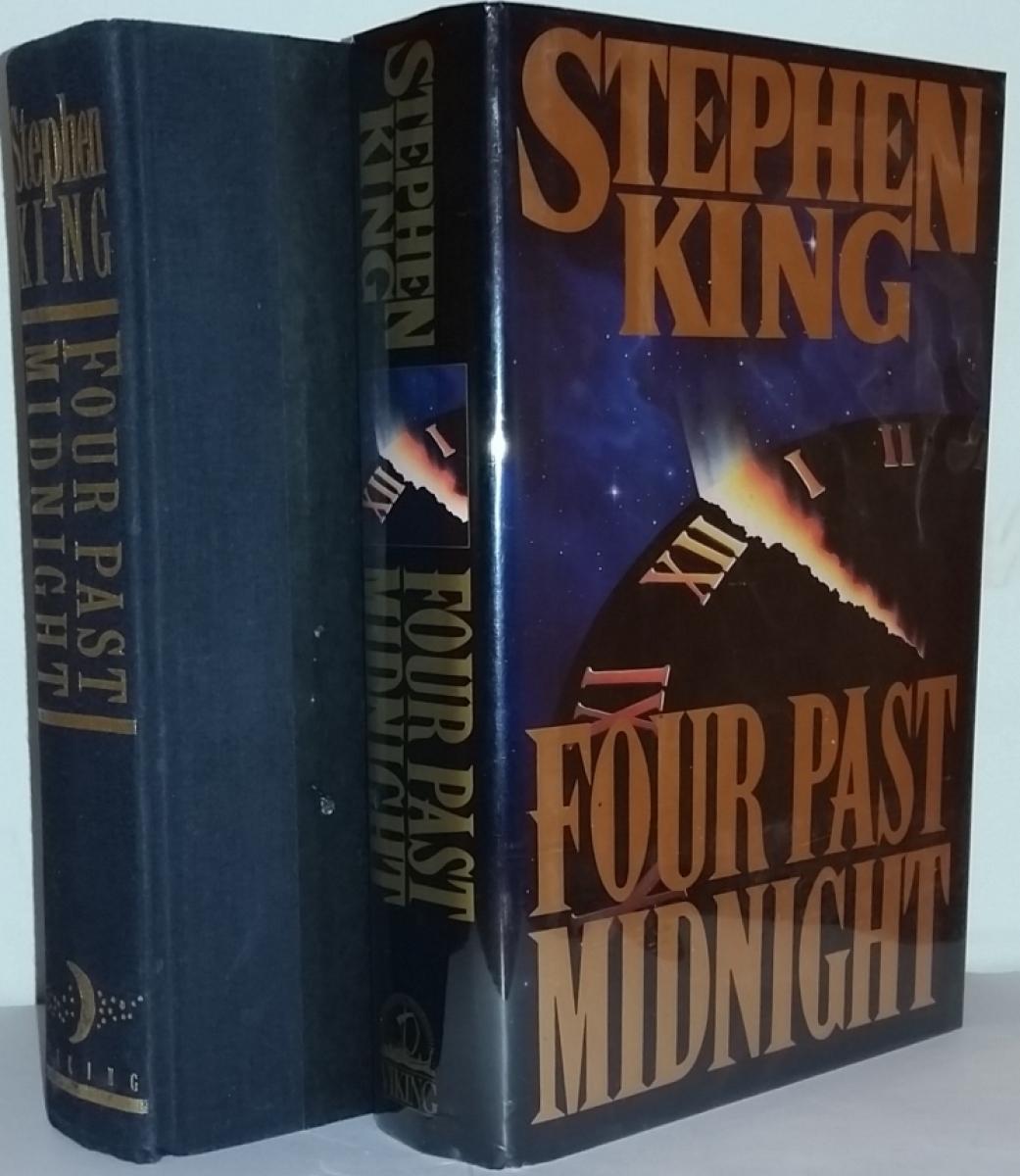 """""""Four Past Midnight"""" - książka i obwoluta - obrazek"""