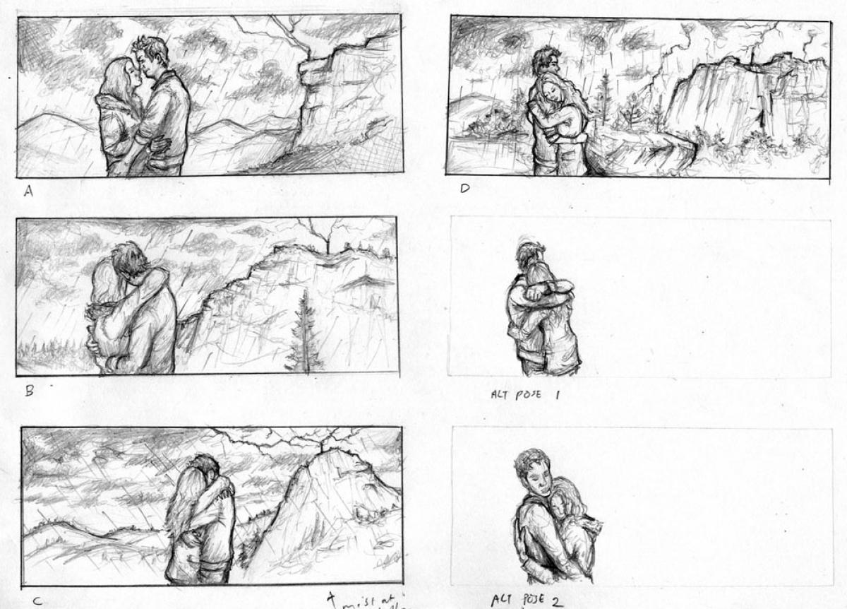 Przebudzenie - Skytop - concept sketch (Vincent Chong) - obrazek