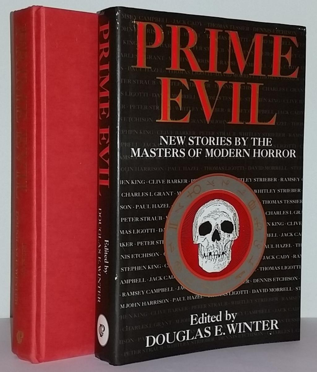 """""""Prime Evil"""" - książka i obwoluta - obrazek"""