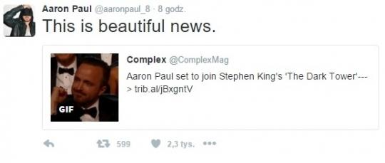 Aaron Paul na tweeterze