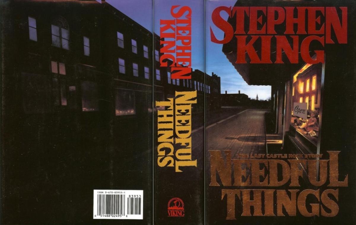 """Needful Things"" - obwoluta - obrazek"
