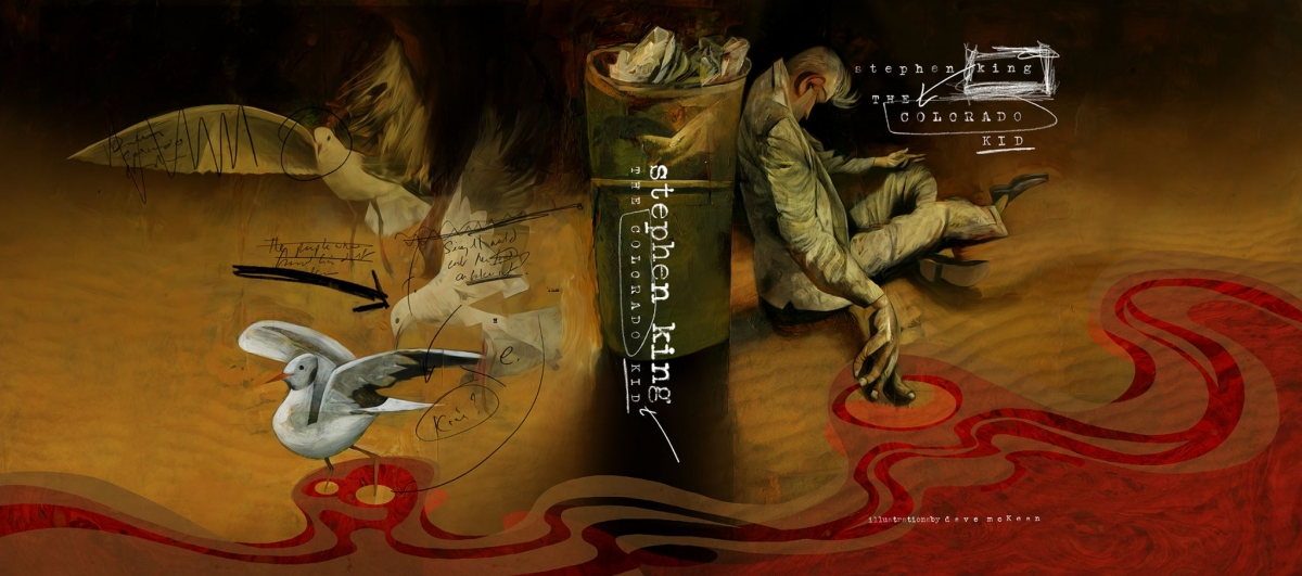 """""""The Colorado Kid"""" - cała obwoluta książki - obrazek"""