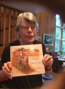 Stephen King ma juz swĂłj egzemplarz Charlie Puf-Puf - obrazek