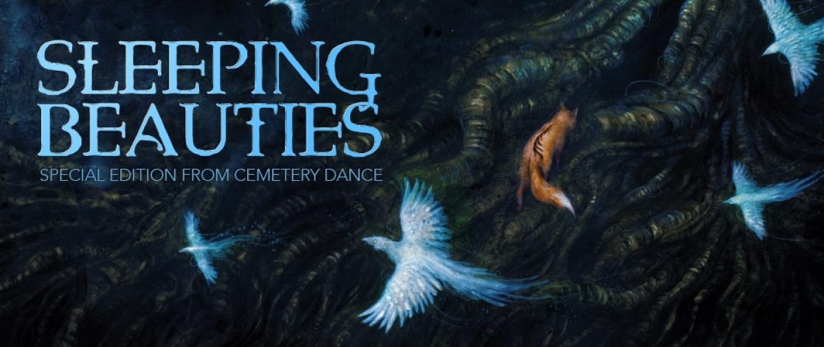 Sleeping Beauties - wydanie specjalne Cemetery Dance - ilustracja autorstwa Jany Heidersdorf - obrazek