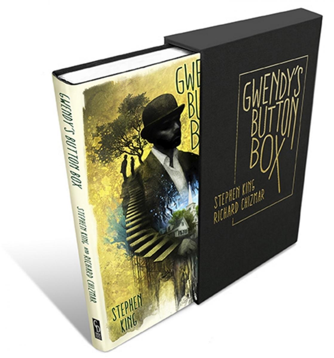 """""""Gwendy's Button Box"""" - wizualizacja książki z etui - obrazek"""