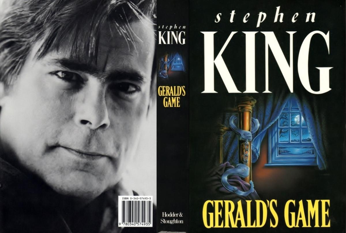 """""""Gerald's Game"""" - obwoluta - obrazek"""