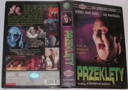 Przeklęty (VHS) - okładka