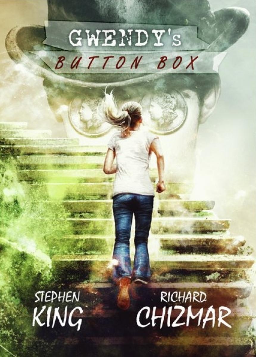 """""""Gwendy's Button Box"""" okładka wydania SST Publications - autor Vincent Sammy - obrazek"""