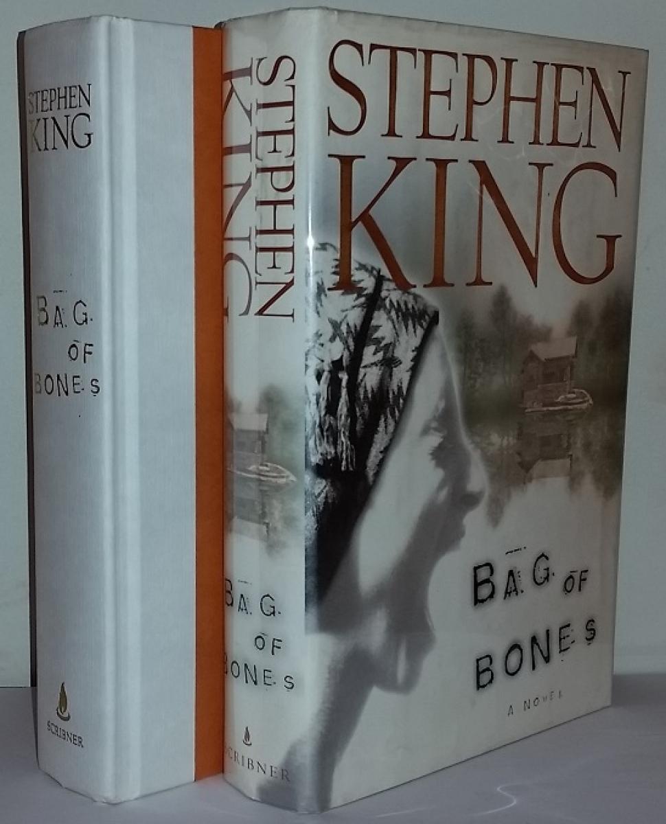 """""""Bag of Bones"""" - książka i obwoluta - obrazek"""