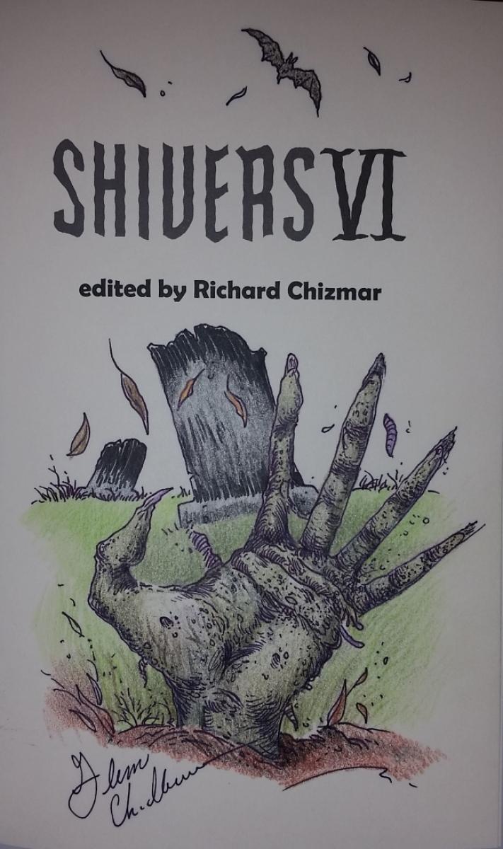 """""""Shivers VI"""" - remarque Glenn Chadbourne - obrazek"""