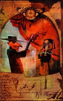 Dave McKean - The Dark Tower IV Wizard and Glass 09 - obrazek