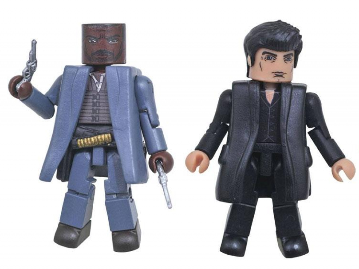 Figurki Minimates - Roland i Człowiek w czerni - obrazek
