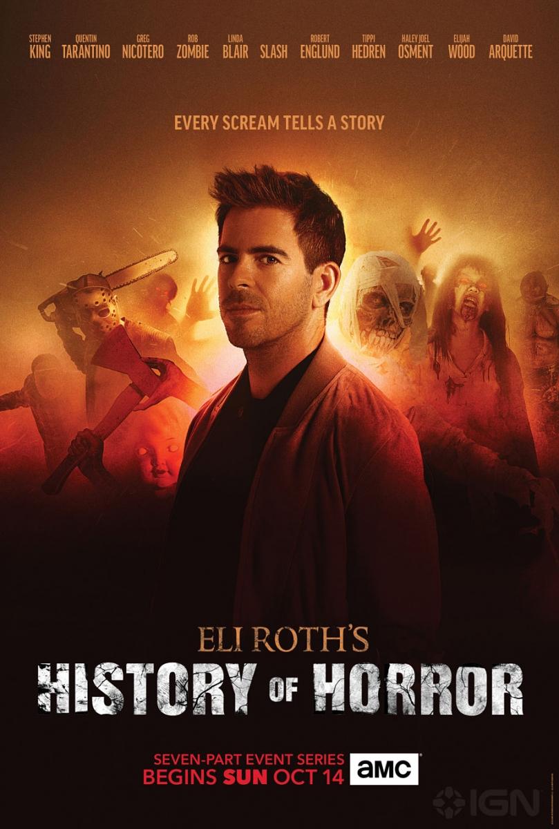 Eli Roth's History of Horror - plakat - obrazek