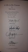 A Life in the Cinema (Gauntlet Press) LE - autografy Stephen King, Mick Garris, Clive Barker, Tobe Hooper
