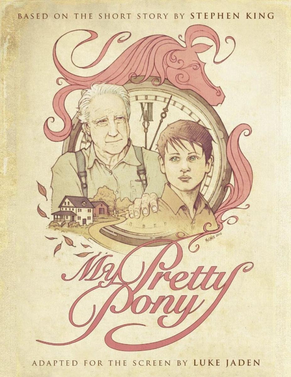 """""""My Pretty Pony"""" - plakat - obrazek"""