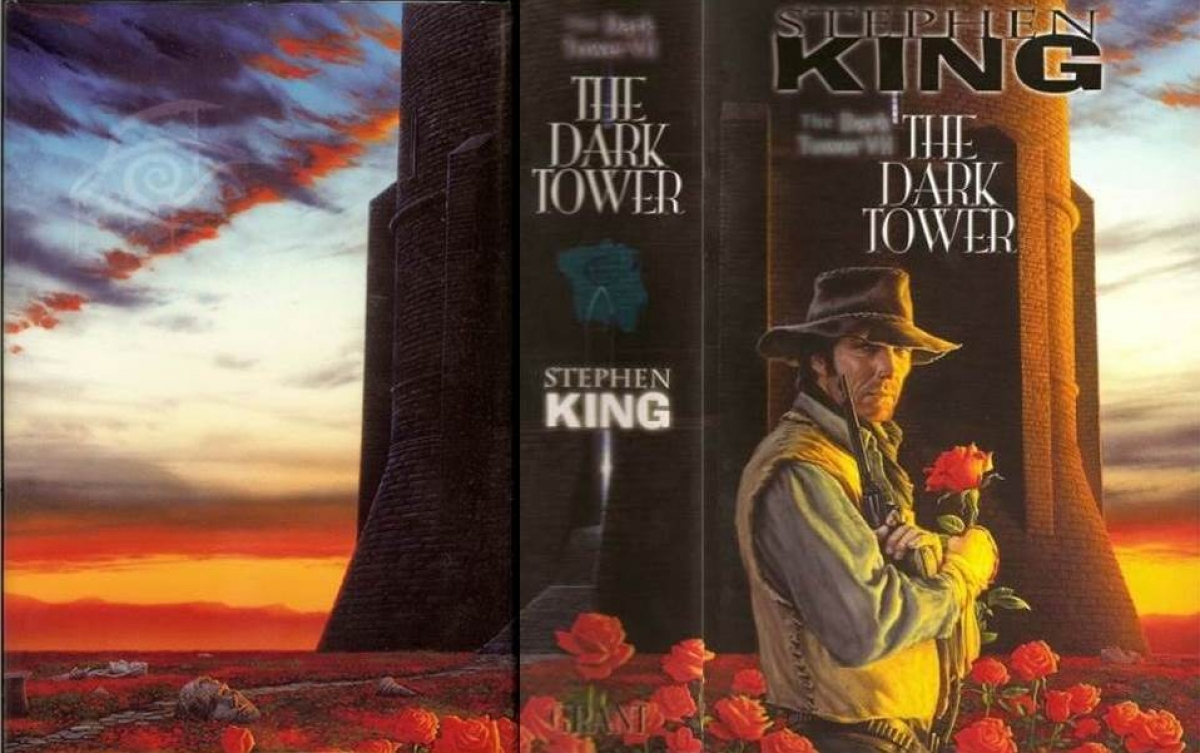 """The Dark Tower VII The Dark Tower"" - obwoluta - obrazek"