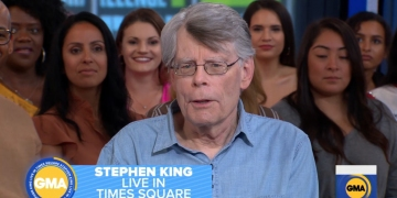 Stephen King w Good Morning America - obrazek
