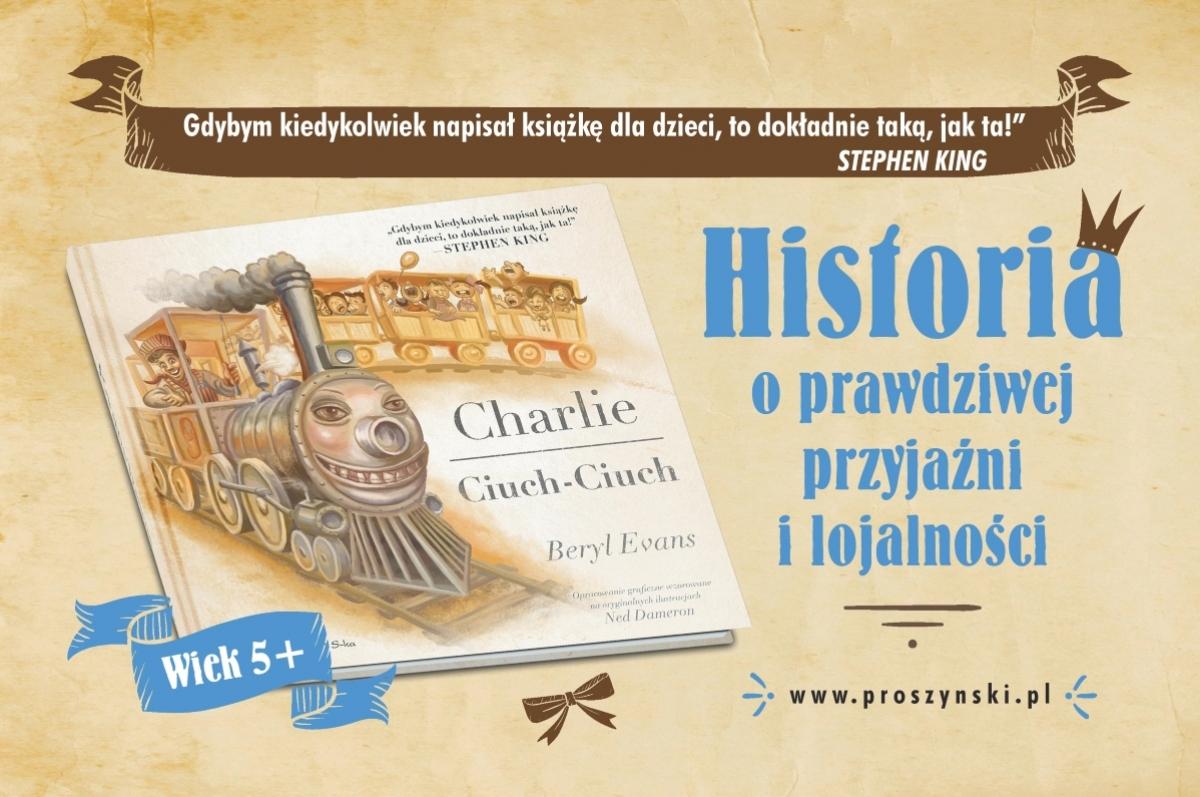 """Charlie Ciuch-Ciuch"" - plakat reklamowy - obrazek"