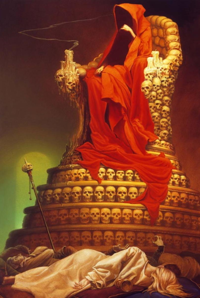 """The Dark Tower VII: The Dark Tower"" - ilustracja Michaela Whelana - obrazek"