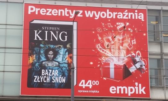 Bazar złych snów - plakat Empik