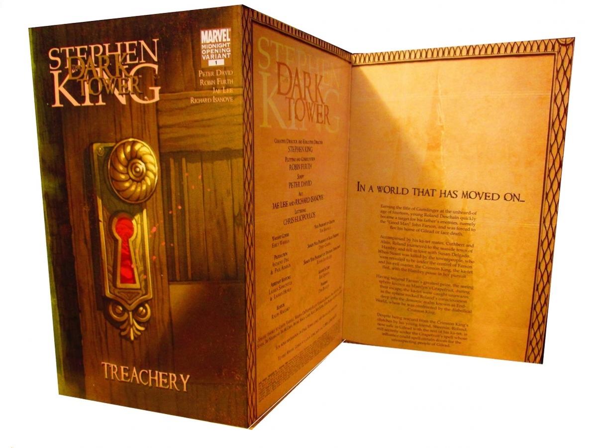 """The Dark Tower 3 Treachery"" #1 wariant Mindnight Opening - obrazek"