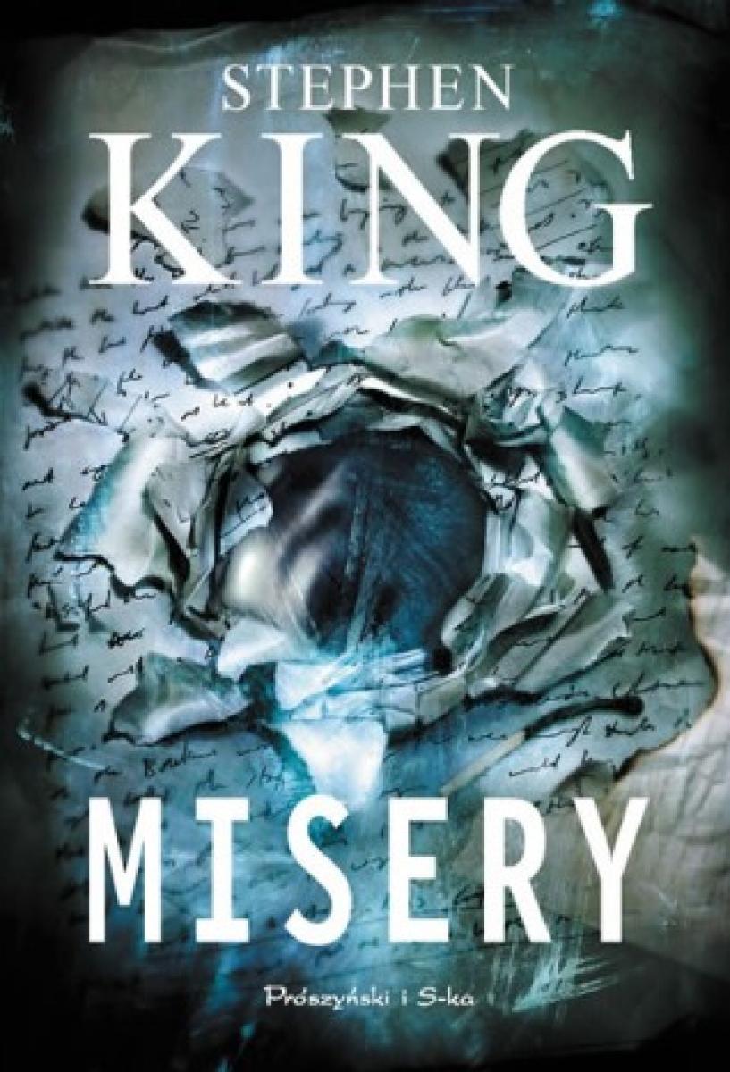 Misery - okładka książki - obrazek