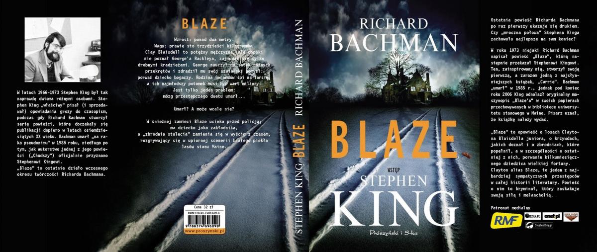 """""""Blaze"""" - cała okładka - obrazek"""